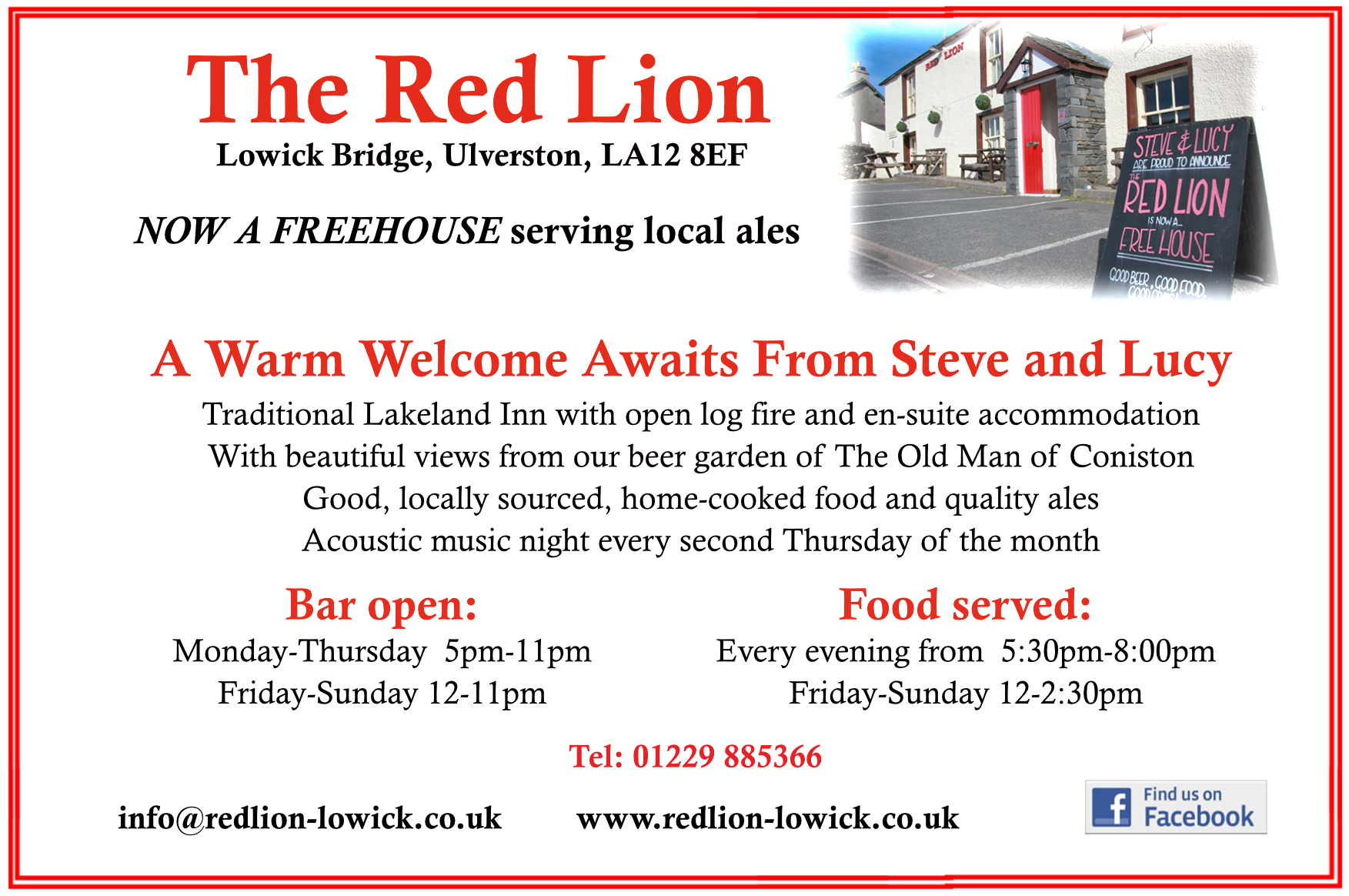 Red Lion Lowick